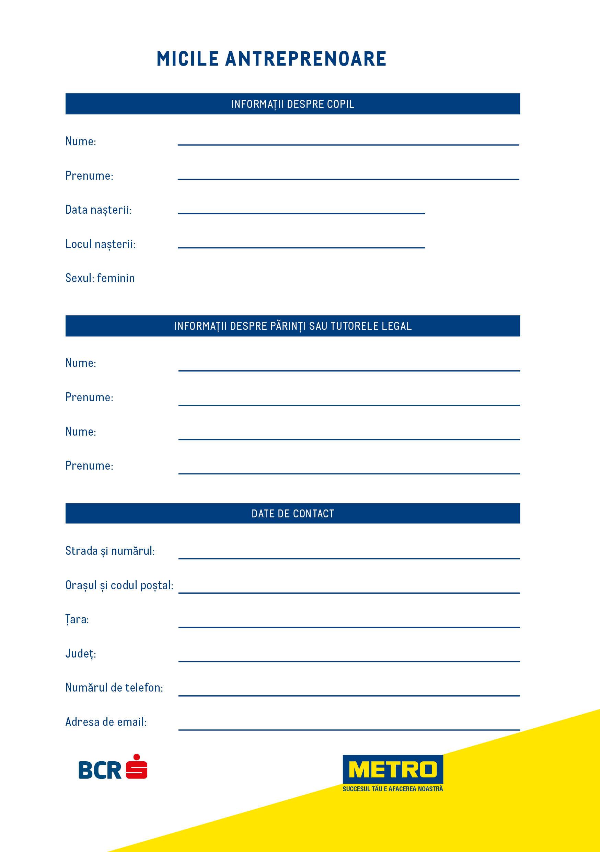 bcr formular credit