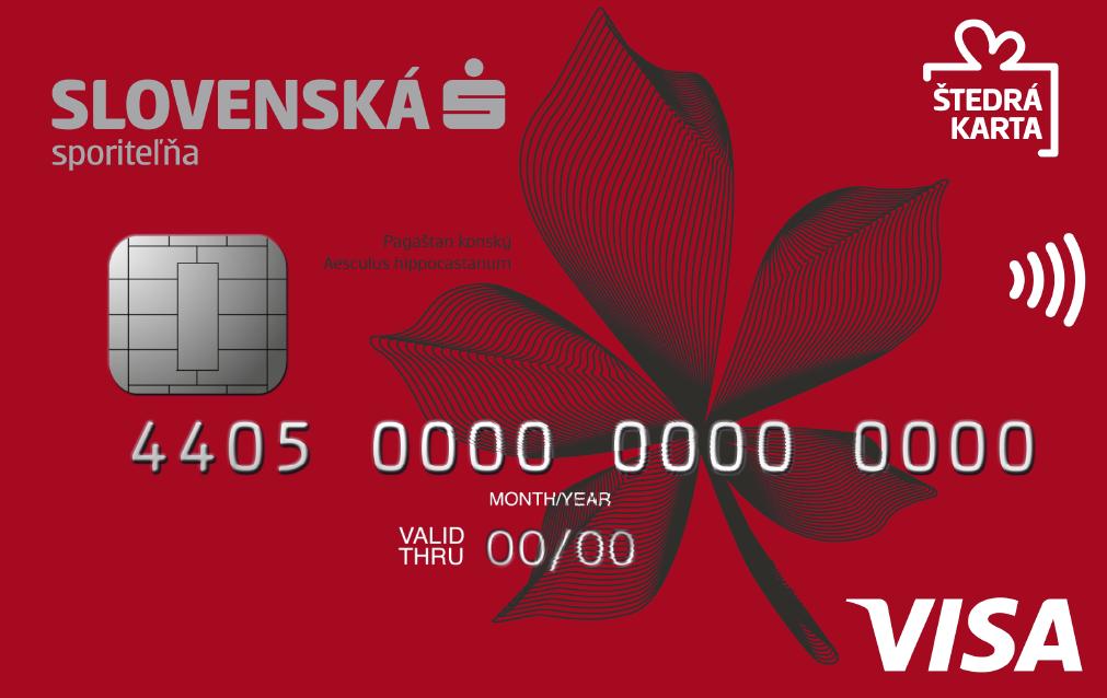 SLSP Štedrá karta - kreditná karta