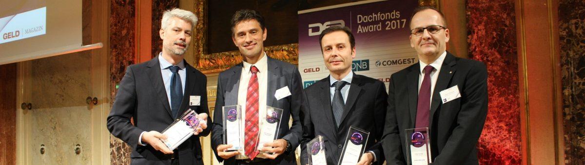 Österreichischer Dachfonds Award 2017: Fonds der Erste Bank-  und Sparkasse mit den meisten Auszeichnungen