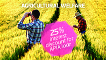 Growing prosperity in agriculture